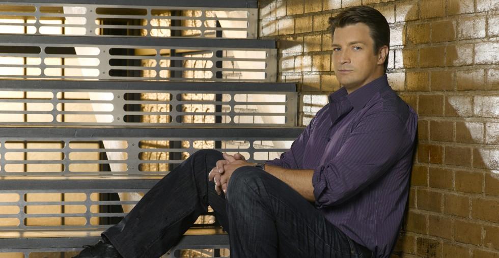 """CASTLE - ABC's """"Castle"""" stars Nathan Fillion as Richard Castle. (ABC/BOB D'AMICO)"""